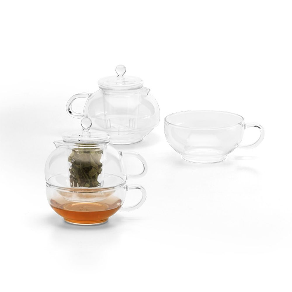 Glass teapot set with infuser - Tea pots with infuser ...