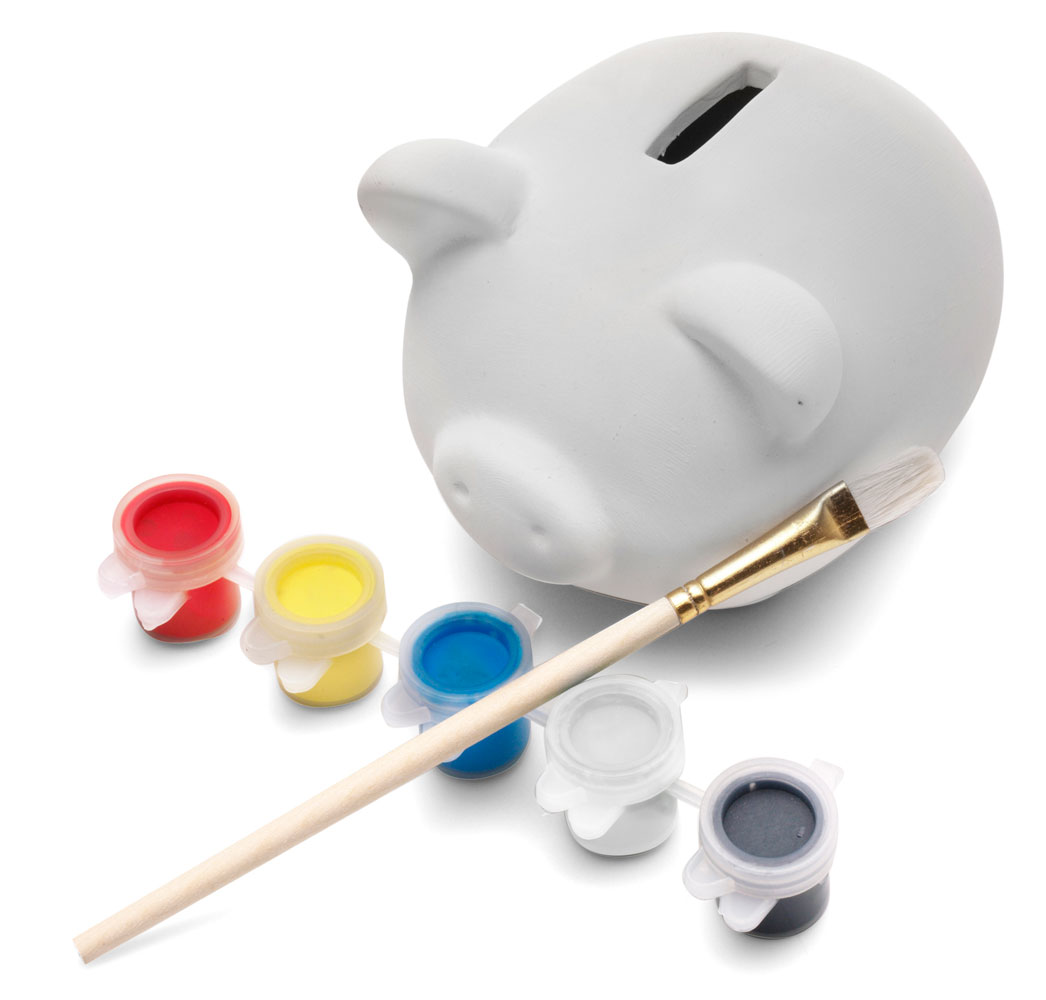 Paint your own ceramic piggy bank for How to paint a ceramic piggy bank