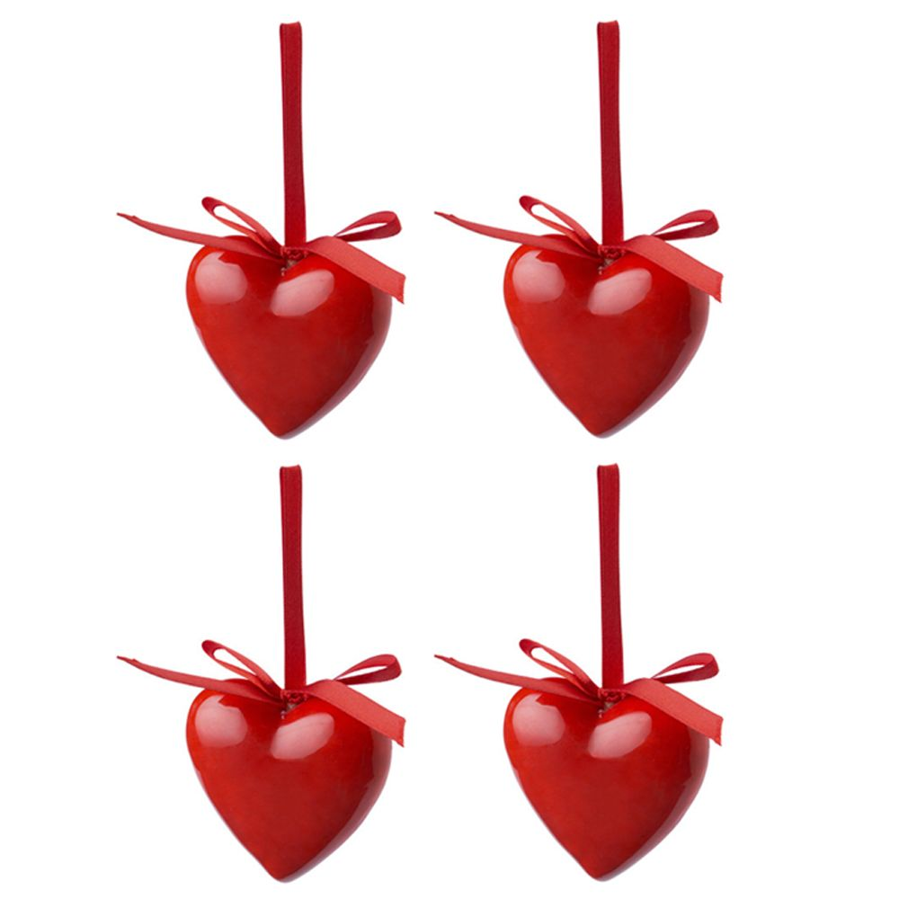Christmas Heart Decoration.Assorted Packs Of Festive Christmas Heart Decorations Christmas Tree Decorations