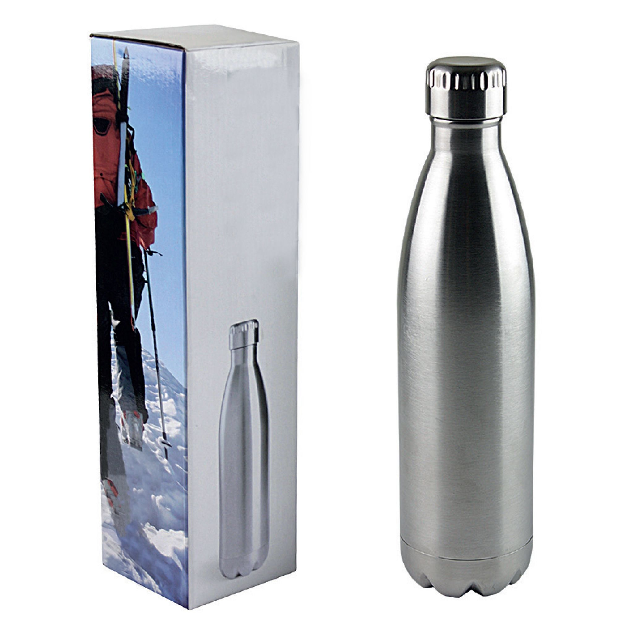 PU Leather Travel Thermal Mug,17 oz COOSUN Horses Animated Stainless Steel Flasks Water Bottle Vacuum Insulated Cup Leak Proof Double Vacuum Bottle